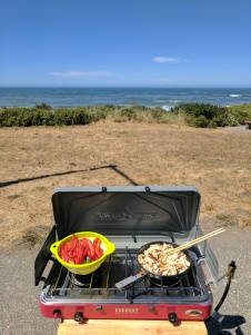 Lunch with the ocean