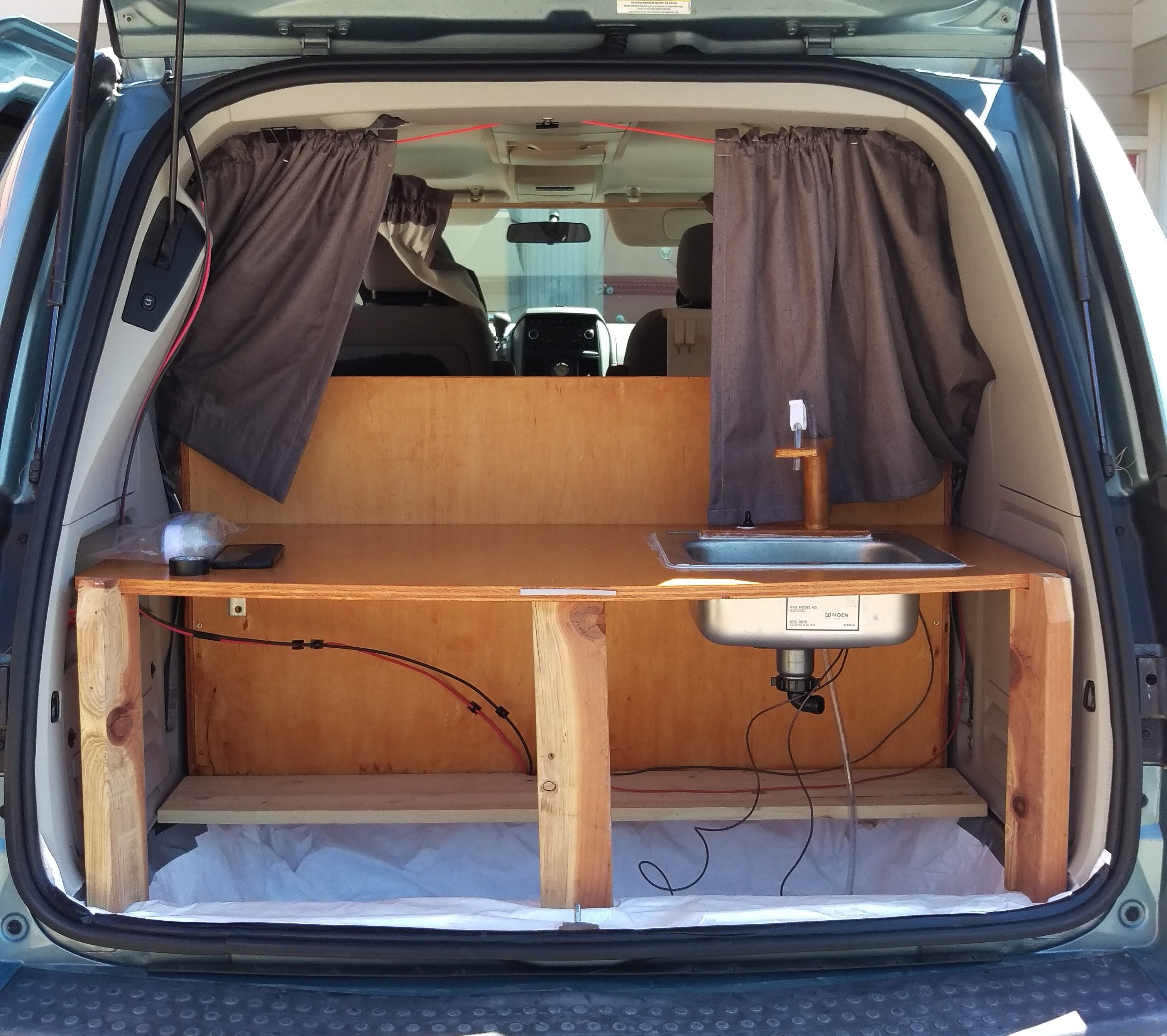 Mini Camper Van Kitchen