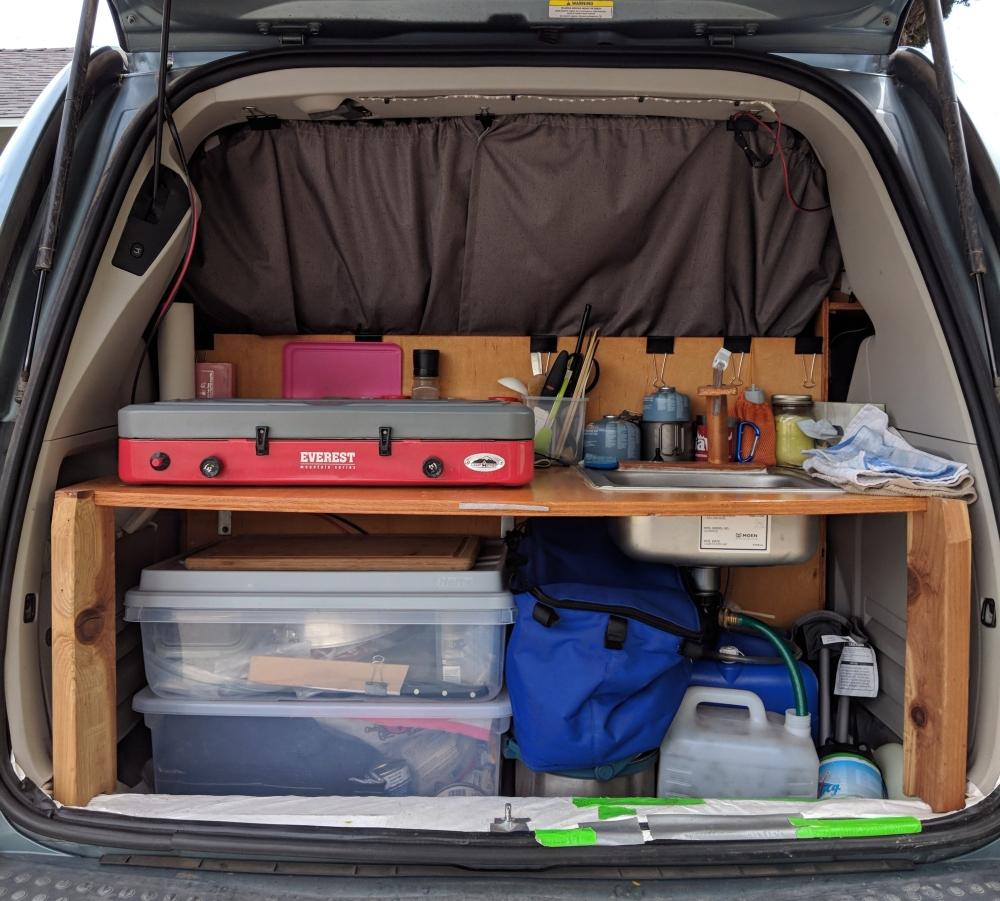 Mini Camper Van Kitchen